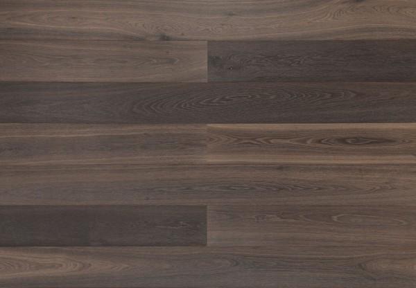 Landhausdiele Edeleiche gebürstet kerngeräuchert roh-optik geölt - 34110