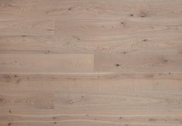 Landhausdiele Eiche Rustik gebürstet grigio matt lackiert - 70302
