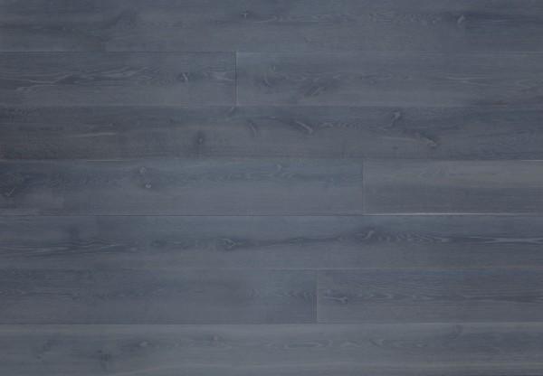 Gutsboden Wildeiche gebürstet titanblau gelaugt geölt - 99134