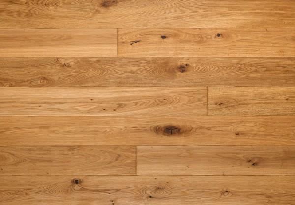 Massivholzdiele Wildeiche handbearbeitet geölt - 90090