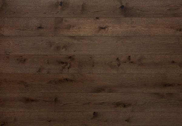 Landhausdiele Eiche Rustik gebürstet marrone matt lackiert - 70303