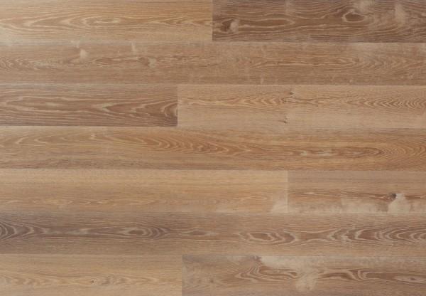 Landhausdiele Asteiche glatt maschinengehobelt angeräuchert gekalkt geölt - 34029
