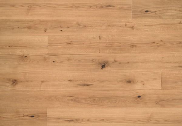 Landhausdiele Eiche Seefeld Rustik gebürstet leicht weiß pigmentiert geölt - 50611