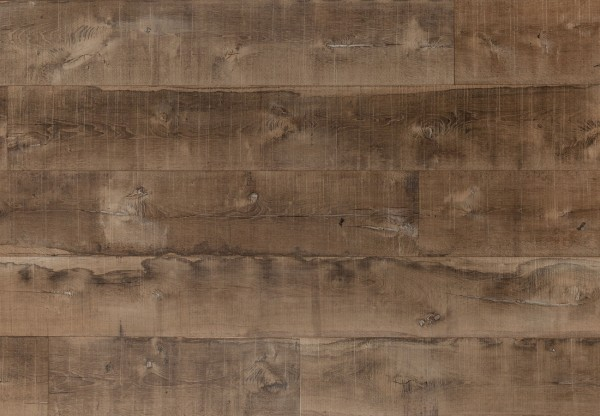Altholzboden Eiche naturgetrocknet angeräuchert sägerau gelaugt mit Wasserflecken geölt - 36531